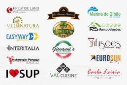 Logotipos Albufeira Algarve Portugal